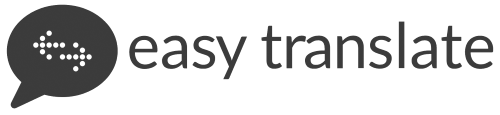 logo of easy translate agency